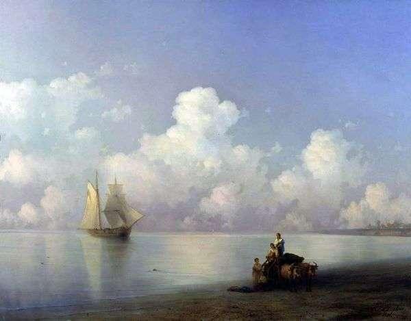 海での夜   Ivan Aivazovsky