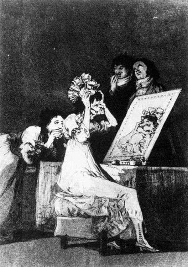 彫刻   Caprichos(気まぐれ)   Francisco de Goya