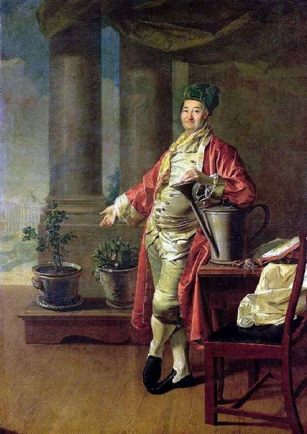 P. A. Demidov   Dmitry Levitskyの肖像