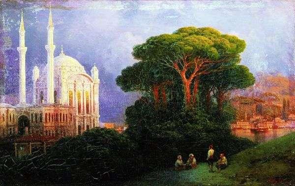 コンスタンティノープル   イワンAivazovskyの眺め