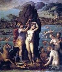 ペルセウスとアンドロメダ   Giorgio Vasari