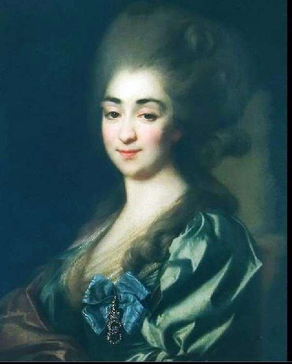 P. N. Repnina   ドミトリー・レヴィツキーの肖像