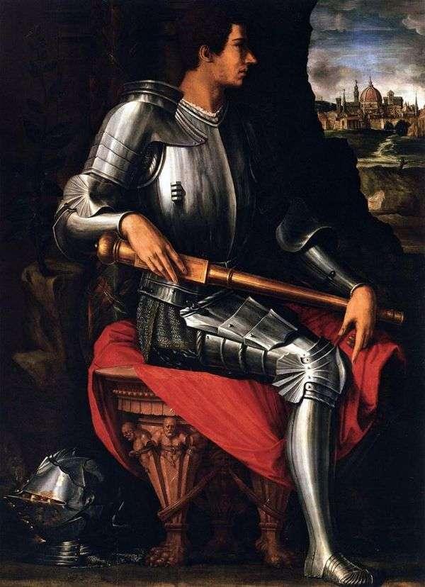 アレッサンドロ・メディチ   ジョルジョ・ヴァザーリの肖像