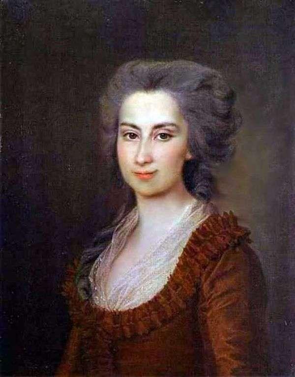 P. F. Vorontsova   Dmitry Levitskyの肖像