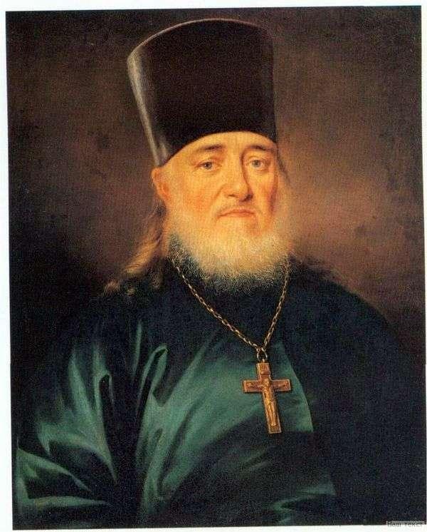 司祭Peter Levitsky   ドミトリーLevitskyの肖像