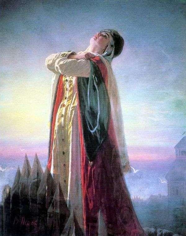 泣くヤロスラヴナ   ヴァシリー・ペロフ