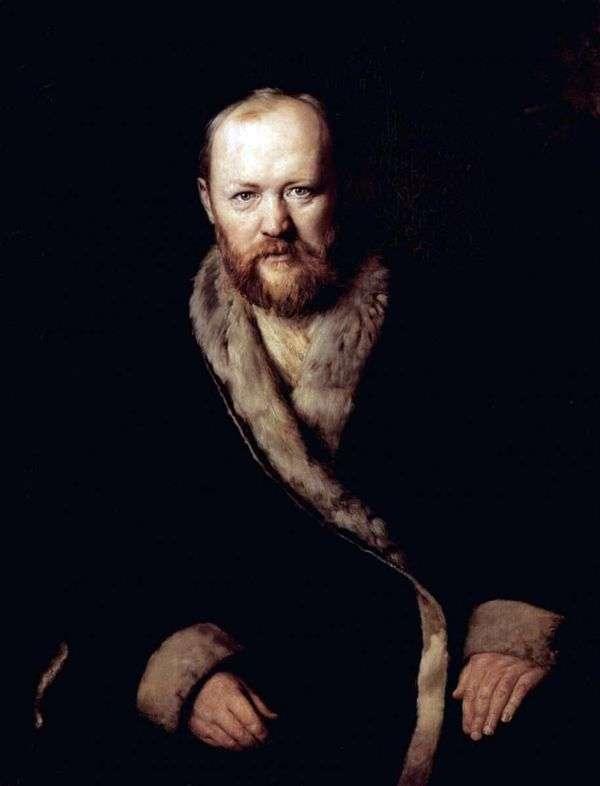 A. N. Ostrovsky、作家   Vasily Perovの肖像