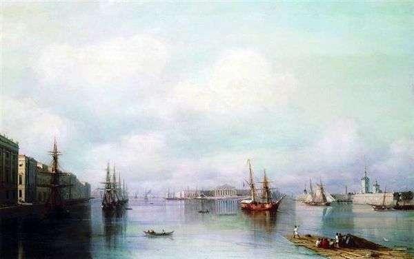 Petersburg   Ivan Aivazovskyのビュー