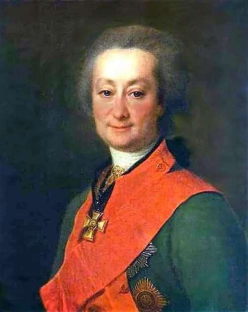 F. G. Orlov   Dmitry Levitskyの肖像