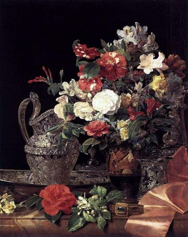 古典的なクレーターの花束   FerdinandWaldmüller