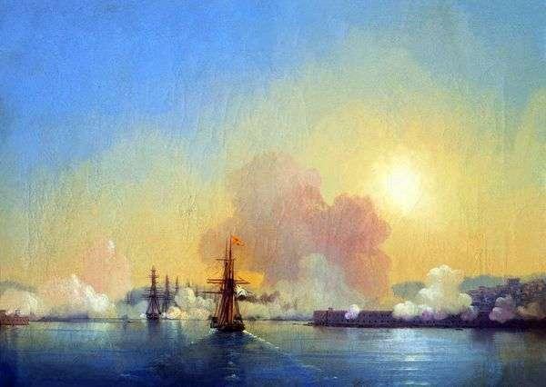 セヴァストポリ湾   Ivan Aivazovskyへの入り口