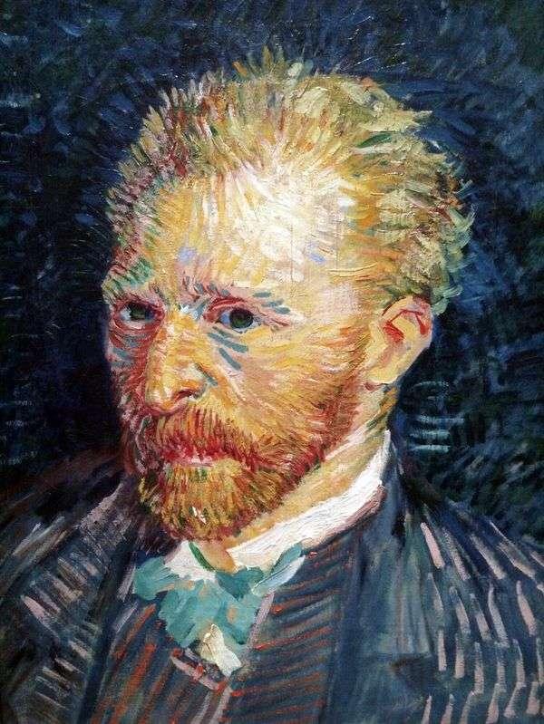 セルフポートレートV   Vincent Van Gogh