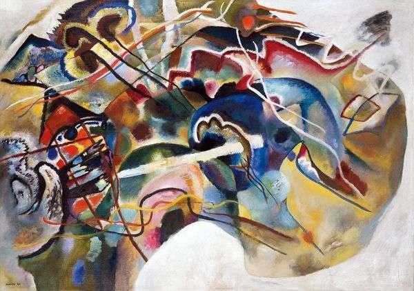 白枠   Wassily Kandinskyと一緒に写真