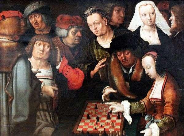 チェスゲーム   ルーカス・ファン・ライデン