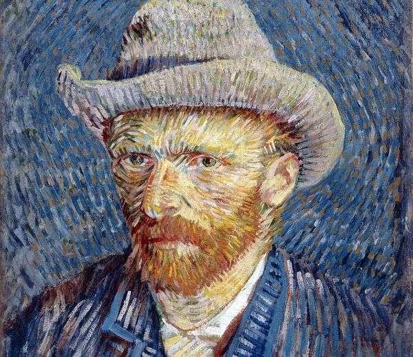 グレーフェルトIIIの自画像   ヴィンセントヴァンゴッホ
