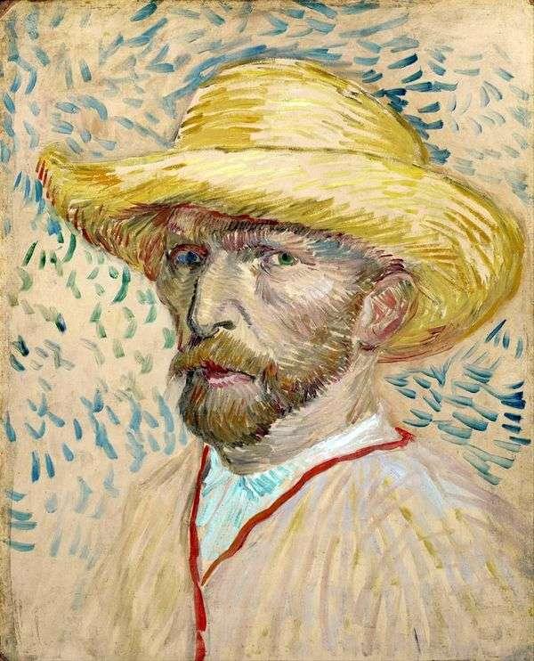 麦わら帽子II   Vincent Van Gogh