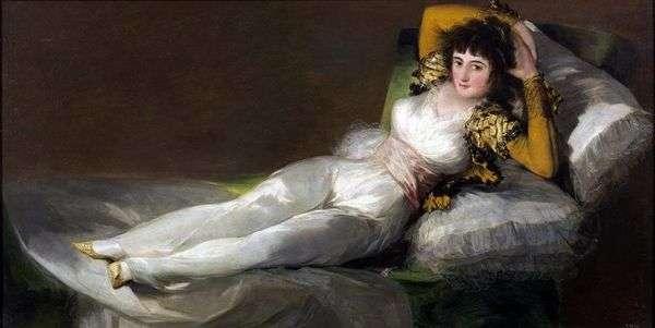 マハ着飾り   Francisco de Goya