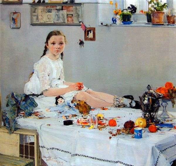 Vary Adoratskaya   Nikolay Feshinの肖像