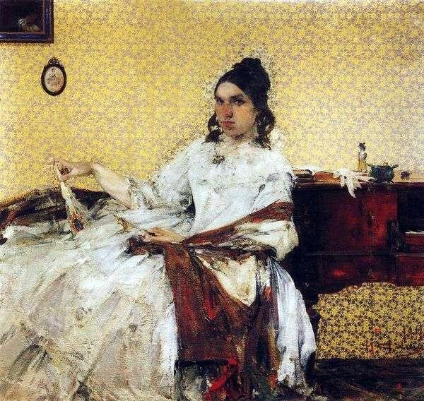 N. M. Sapozhnikova   ニコライフェシンの肖像