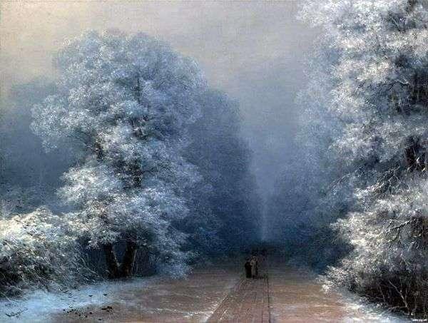 冬の風景   イワンAivazovsky