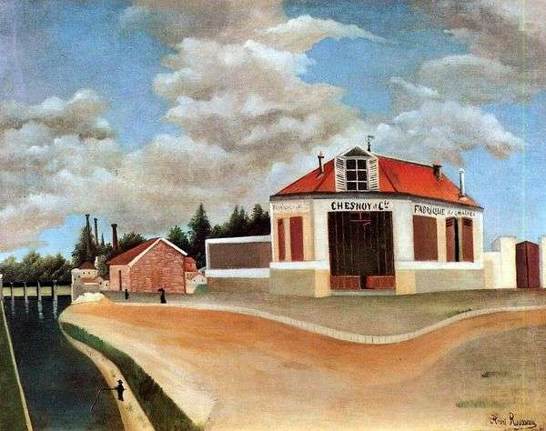 Alfortvilleの家具工場   アンリ・ルソー