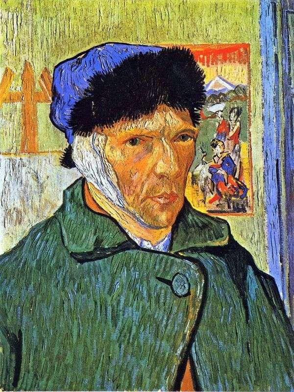 包帯の耳を持つセルフポートレート   Vincent Van Gogh
