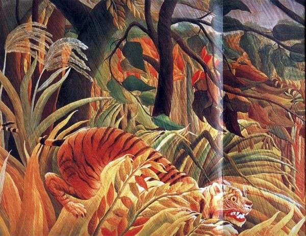 ジャングルの中での攻撃   アンリルソー