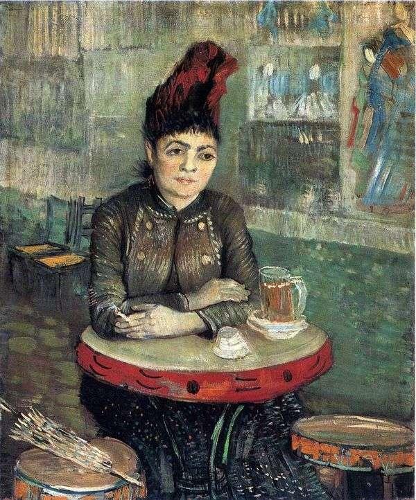 Tambourine Cafe   Vincent Van GoghのAgostina Segatori