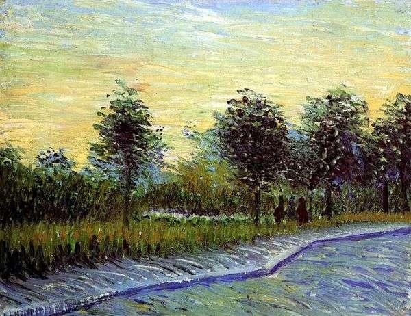 AnyerのParc dArgensonの路地   Vincent van Gogh