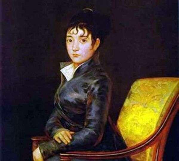 ドナ・テレーザ・ルイーズ・ド・サードの肖像   Francisco de Goya