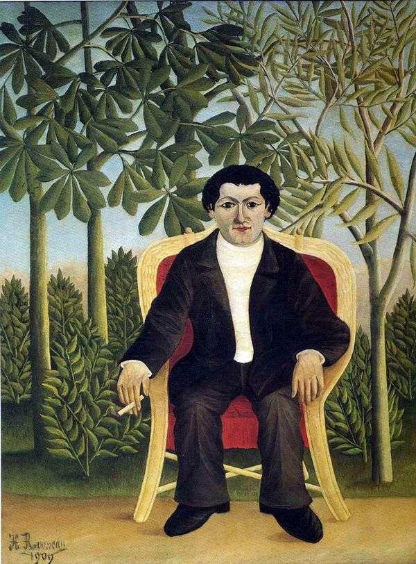 Joseph Bramer   Henri Rousseauの肖像