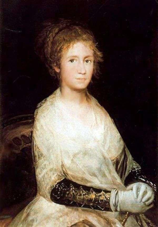 妻の肖像   Francisco de Goya