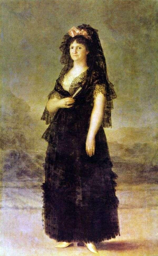 マリアルイーズパルマ女王   フランシスコデゴヤの肖像