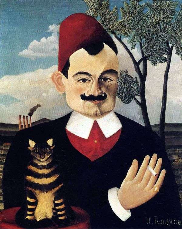 Pierre Loti   Henri Rousseauの肖像