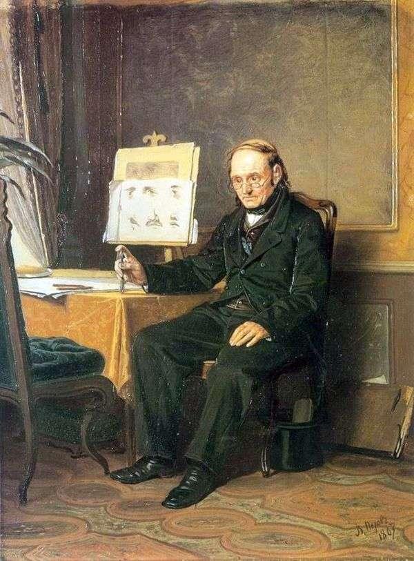 絵の先生   ヴァシリーペロフ