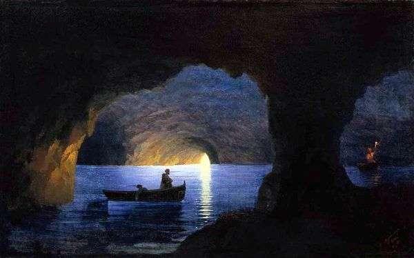 紺碧の洞窟   Ivan Aivazovsky