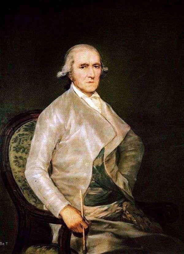 Francisco Bayeux   Francisco de Goyaの肖像