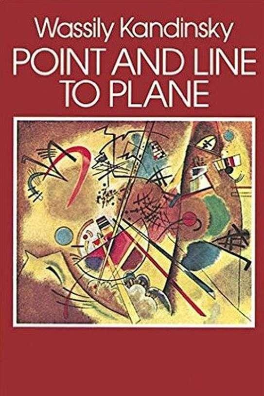 平面上の点と線   Vasily Kandinsky