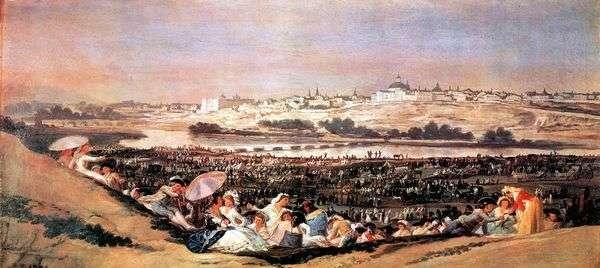 聖イシドラの饗宴(ロメリア)   Francisco de Goya