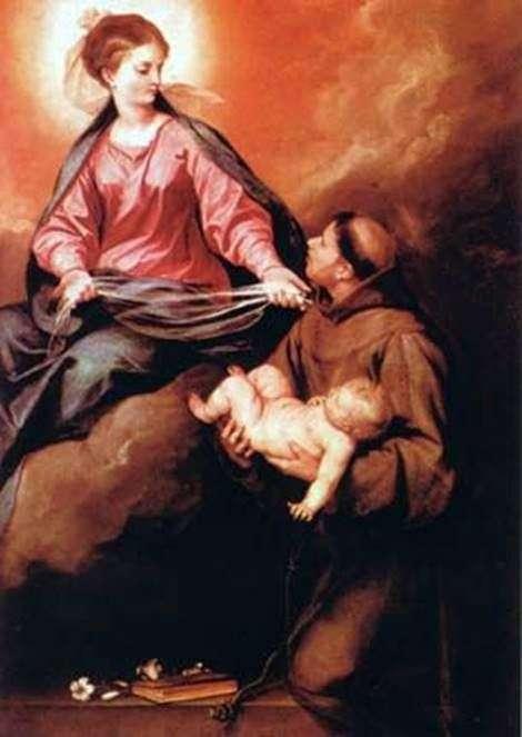 SVのビジョン アントニオ神と子   アロンソ・カノ