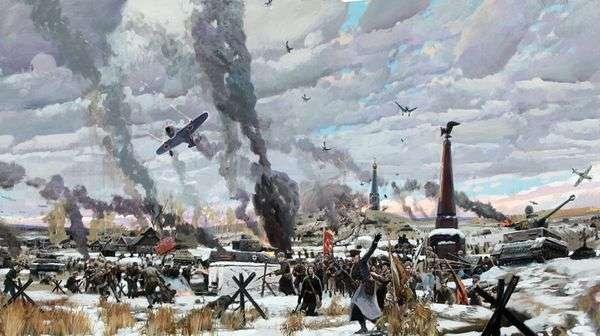 モスクワの戦い   Pavel Ryzhenko