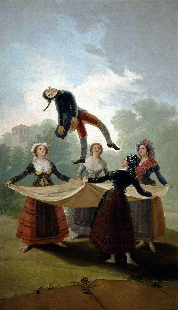 わら人形   Francisco de Goya