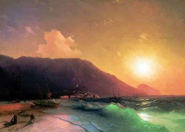 海の景色   イワンAivazovsky
