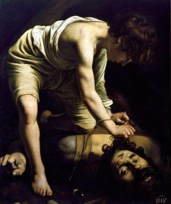 David and Goliath   ミケランジェロメリシダカラヴァッジョ