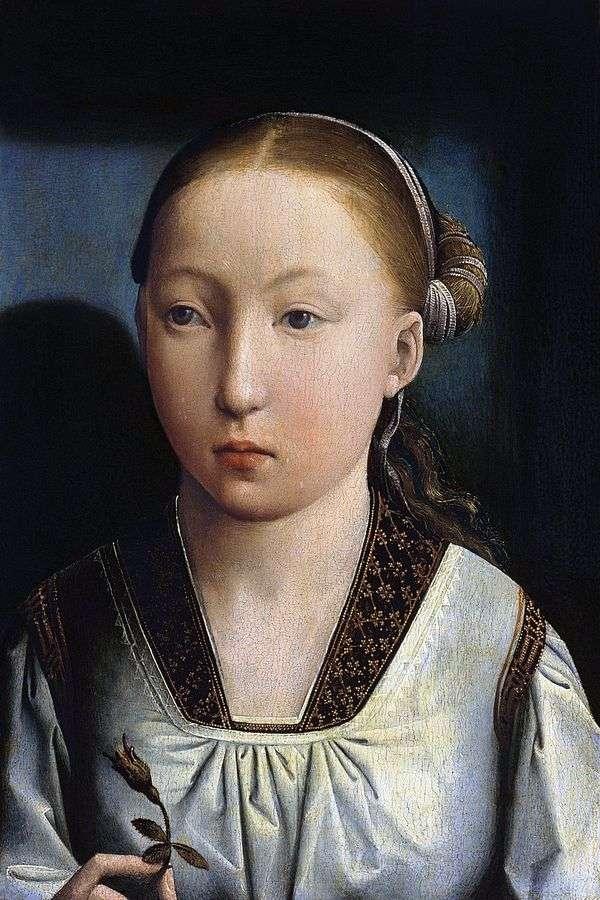 少女の肖像   Juan de Flandes