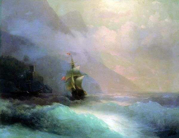 海の絵   イワンAivazovsky