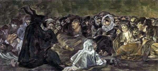 魔女の安息日   Francisco de Goya
