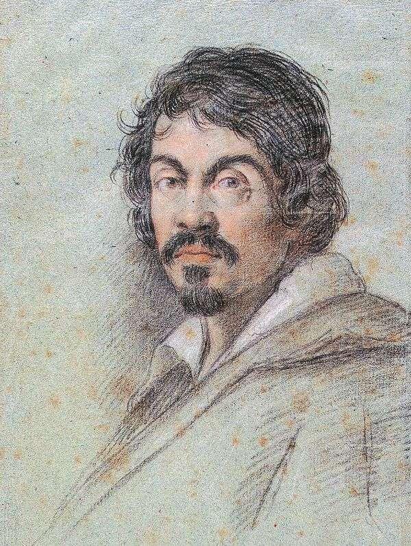 カラヴァッジョの肖像   Ottavio Leoni
