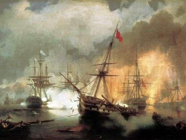 Navarriの戦い   Ivan Aivazovsky