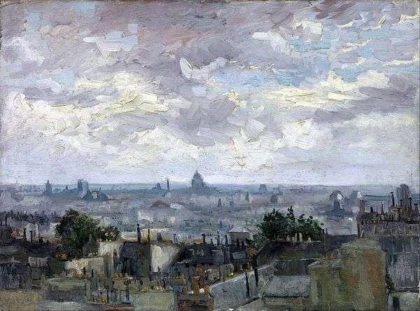 パリ   Vincent Van Goghの街並みを一望